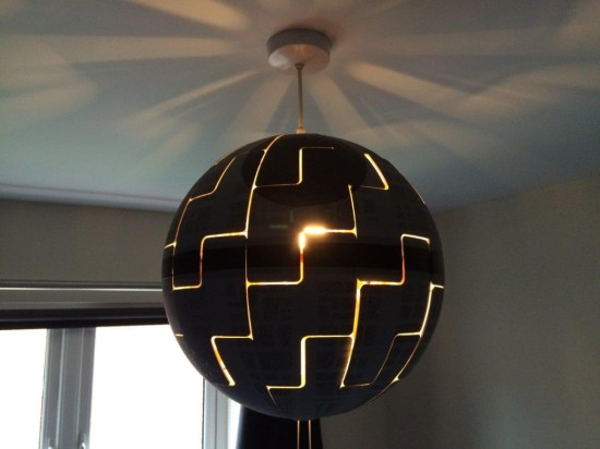 How To Turn An Ikea Lamp Into An Awesome Star Wars Death