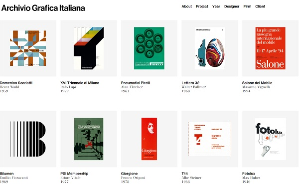 Ben noto For Designers: A Digital Archive Dedicated To Italian Graphic  ZH78