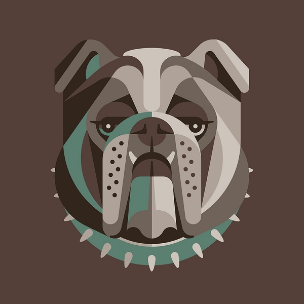 for dog lovers  minimalist  expressive illustrations of