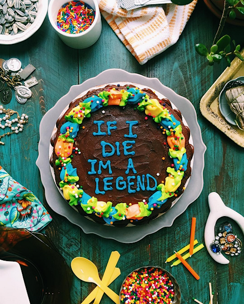 Baker Uses The Lyrics From Drake's Songs To Decorate Delicious Cakes