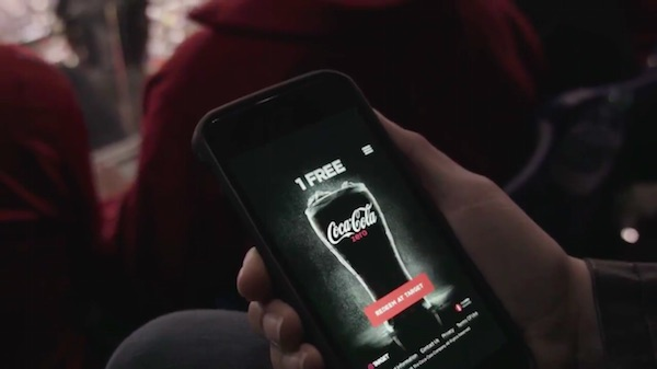 Coca-Cola's New 'Drinkable' Advertisement will allow you to pour a drink from the TV