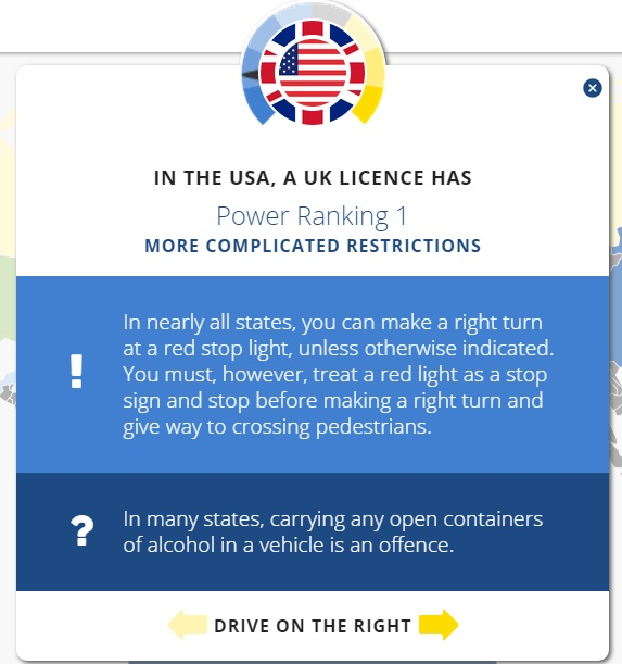 Website Ranks The Most Powerful Driving Licenses Around