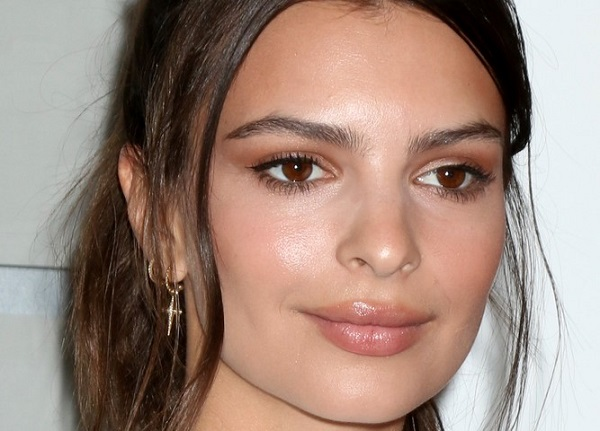Emily Ratajkowski Bares Lower Back While Showing Off New Tattoo Of Her Own Name