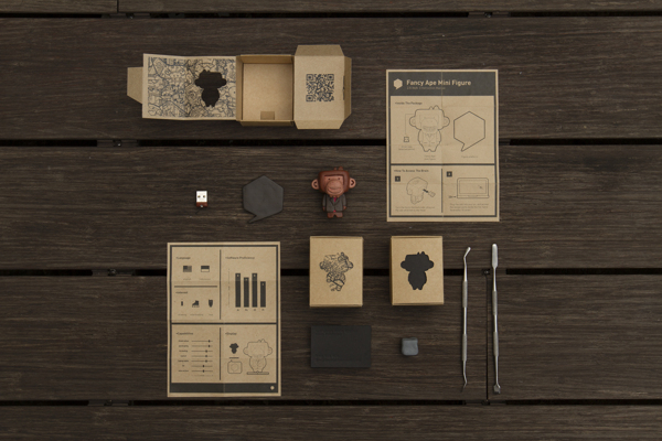 Designer Handcrafts A Fun Custom Toy For His Creative Self-Promotion Kit