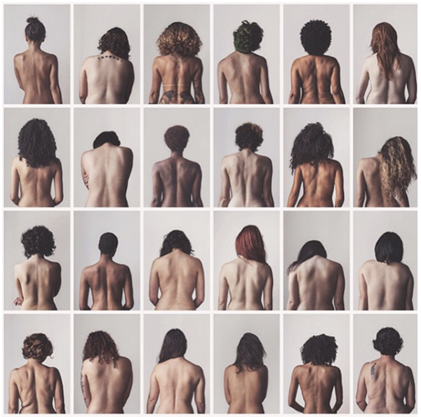 Women Strip Down, Bare Backs In Empowering Photo Series About Body Image