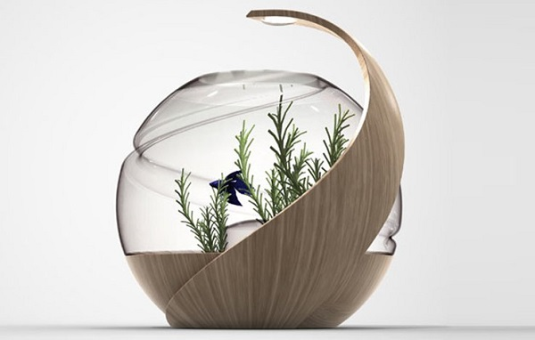 Stylish self cleaning fish tank is a perfect addition to for Avo fish tank