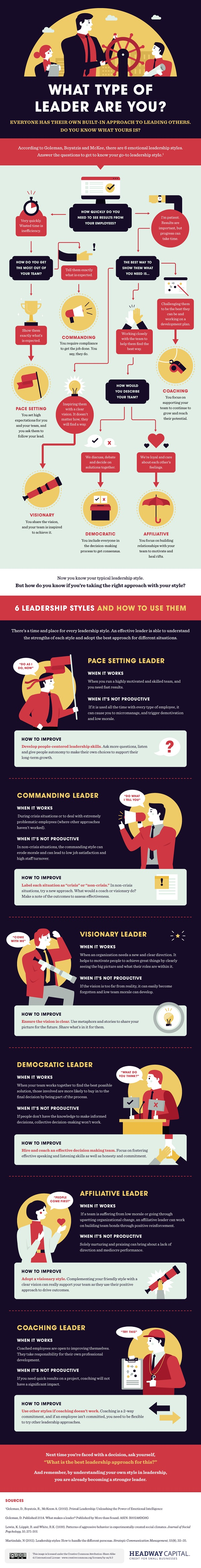 Flowchart: What Type Of Leader Are You?