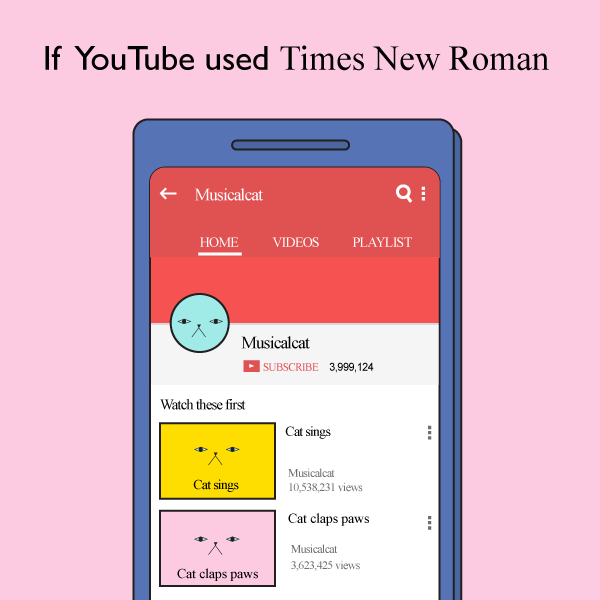 If Popular Apps Used Fonts Like Comic Sans, Papyrus & More