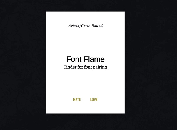 The 'Tinder' For Typefaces Makes It Easy To Choose Font Pairings