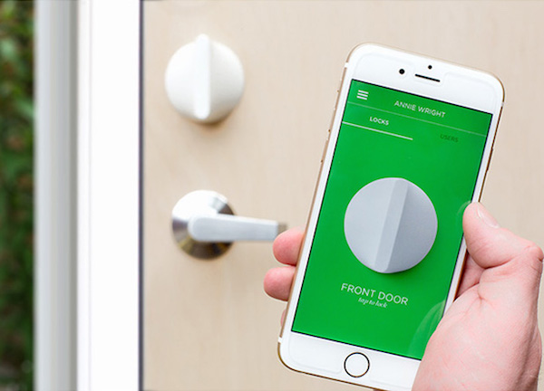 Scandinavian-Designed Smart Lock Lets You Unlock Your Front Door ...