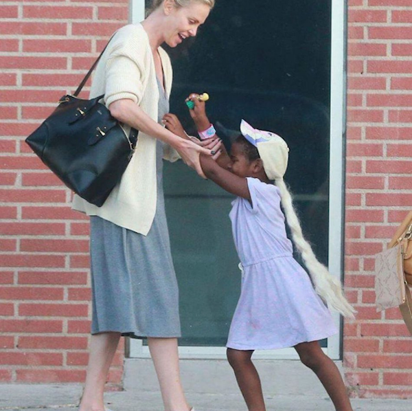 Charlize Theron Faces Backlash For Dressing Up Her Son As ...