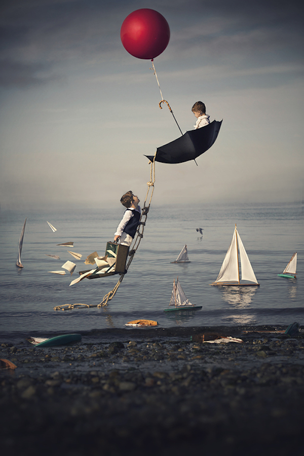 Photographer's Dreamlike Portraits Of Sons Show Beauty Of