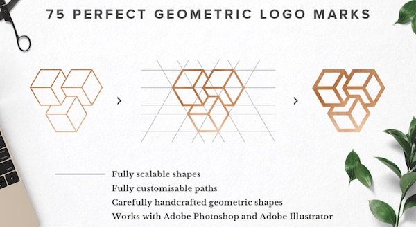 For Designers: Versatile Geometric Logo Templates For Your Creative Projects