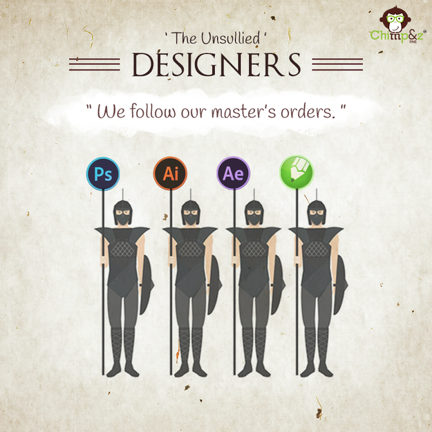 Character Design Agency : If 'game of thrones characters worked at an ad agency