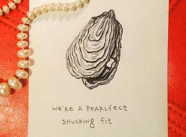 Birthday Card Food Puns ~ Artist creates brilliant witty puns on greeting cards using common