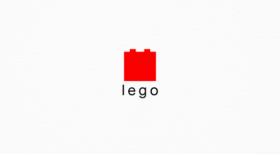 Logos Of LEGO, Apple, Nike, Other Famous Brands Redesigned In A Minimal Style