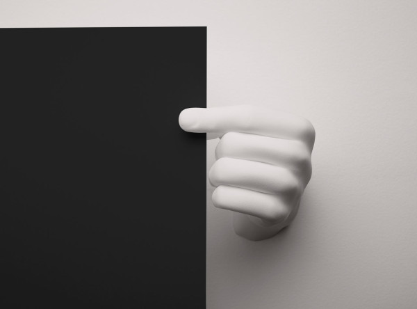 These 3d Printed Hands Are A Creative Way To Hang Posters