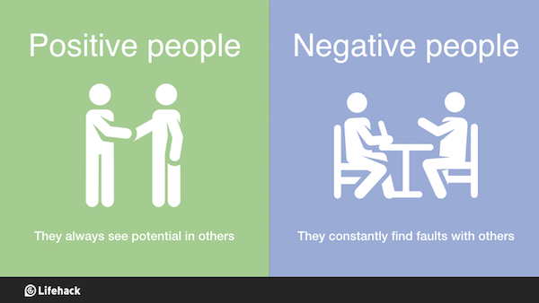 Turning A Bad Situation Into A Good One Quotes: Infographic: 8 Crucial Differences Between Positive People