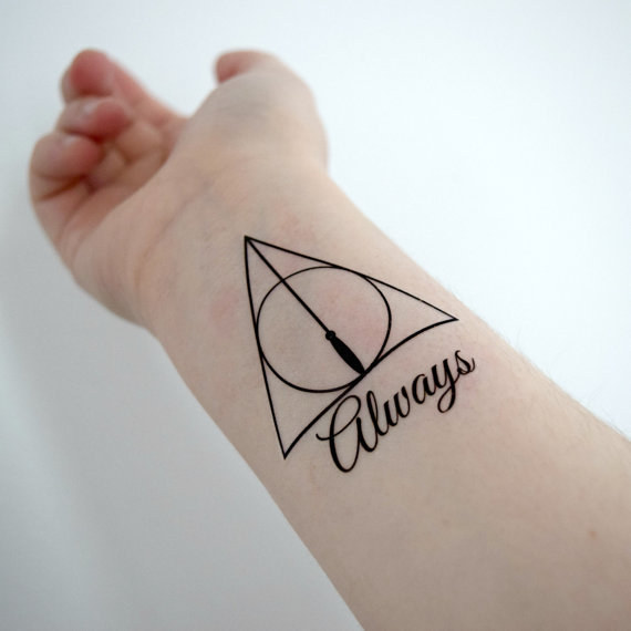 For Harry Potter Fans Awesome Temporary Tattoos That
