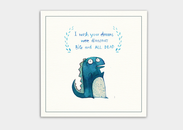 Cute, Delightful Animal Postcards Feature Hilarious Messages