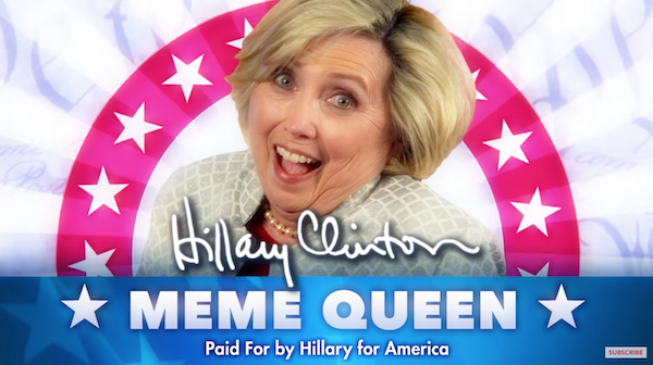 1 bizarre fake hillary clinton ad lets you know that she's queen of,Hillary Clinton Dank Memes