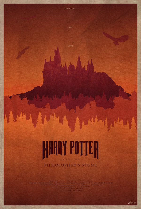 Mystical Illustrations Feature Harry Potter Series In