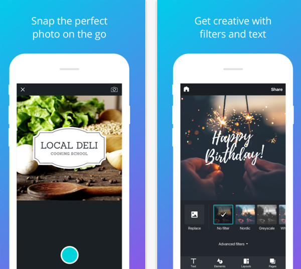 New graphic design app allows you to create pro artworks for Designing an app for iphone
