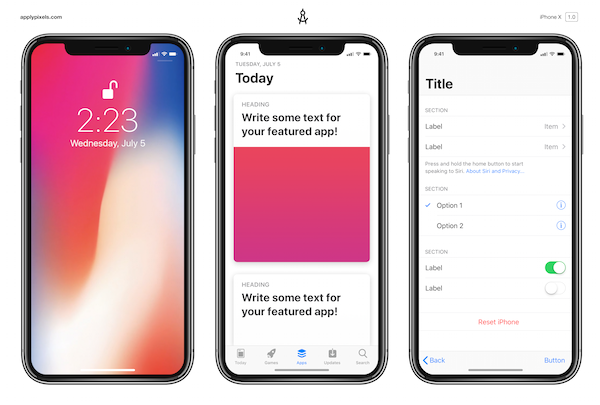 Free iPhone X Mockups To Help Designers Get Ahead Of The Pack