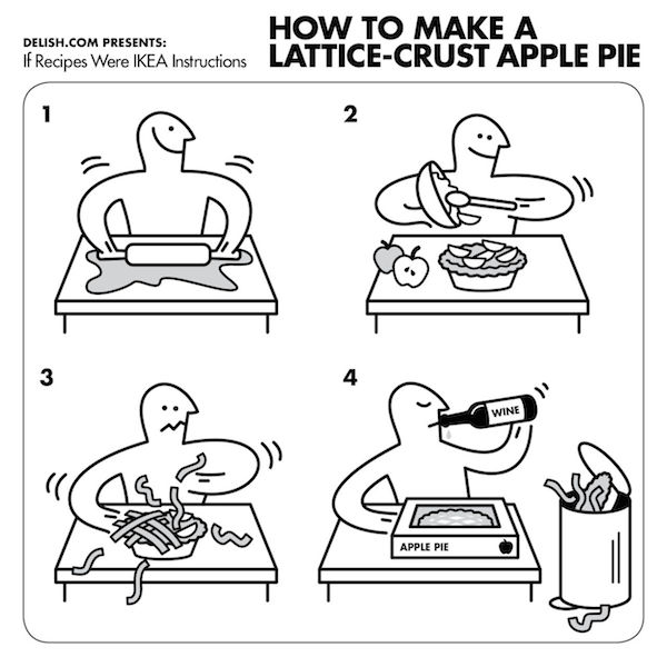 if ikea creates an apple pie recipe for thanksgiving u2026