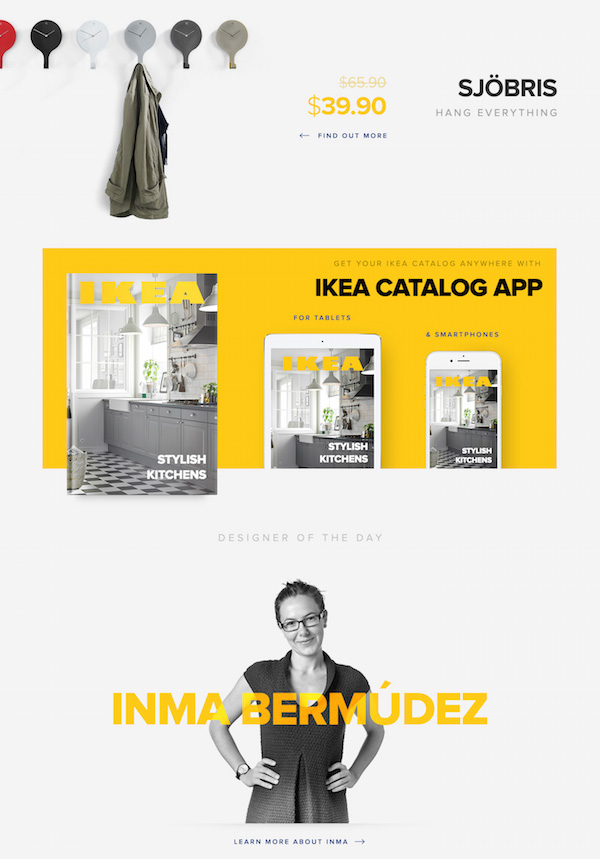 redesign concept gives ikea s store a refreshing clean new look designtaxi