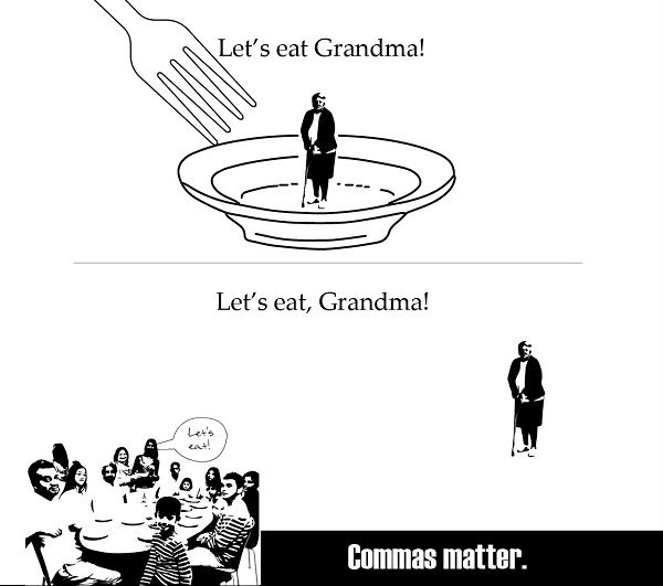 10 Hilarious Proofs Of Correct Punctuation Usage Making A Big Difference - DesignTAXI.com