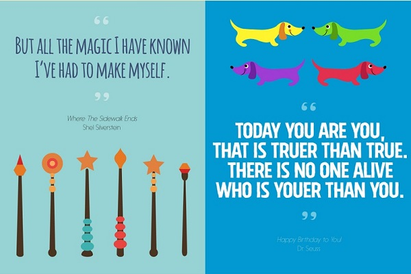 infographic 16 inspirational quotes from children s