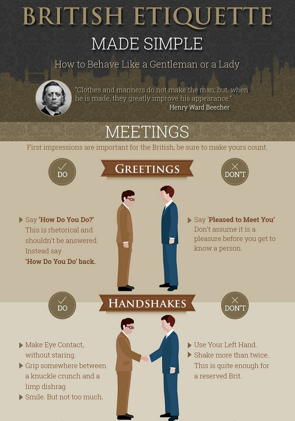 How to be a british gentleman