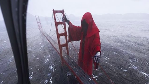 Web developer s insane vfx of golden gate bridge becomes for Decorazione halloween ponte di san francisco
