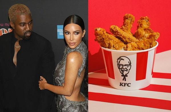KFC Creates Celebratory Fried Chicken Bucket For Kim Kardashian & Kanye West  - DesignTAXI.com