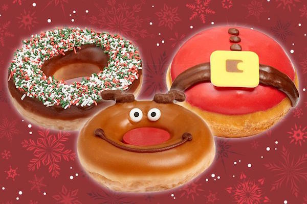 christmas puddings and mince pies are getting a run for their money this year from krispy kreme with its limited edition range of festive donut designs - Krispy Kreme Christmas Hours