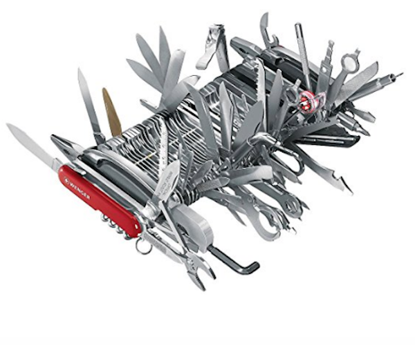 Outrageous Us 9 000 Swiss Army Knife Sparks Comical