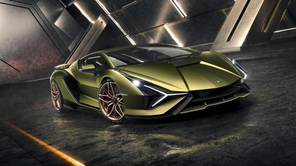 Lamborghini Unveils Its First Hybrid Super Car That's Also It's 'Most Powerful'