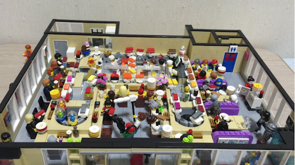 Watch Impressively Detailed Lego Sushi Restaurant With A