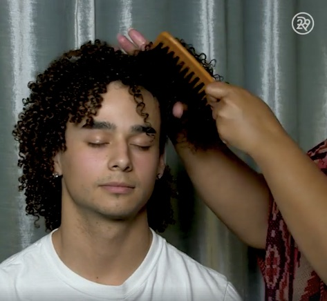 Watch: Long-Haired Men Try Out Buns, Braids, Other Popular Women's Hair Trends - DesignTAXI.com