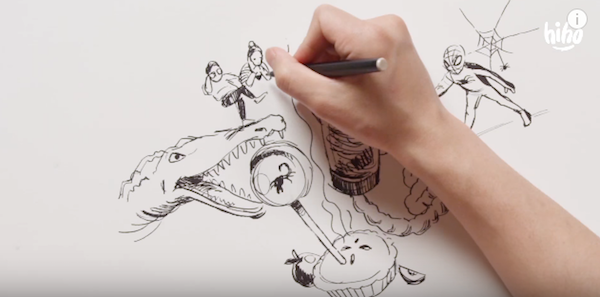 Watch: Kids Describe Love To An Illustrator In This Adorable