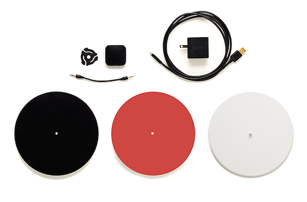 A Portable Smart Turntable That Keeps The Crackles And
