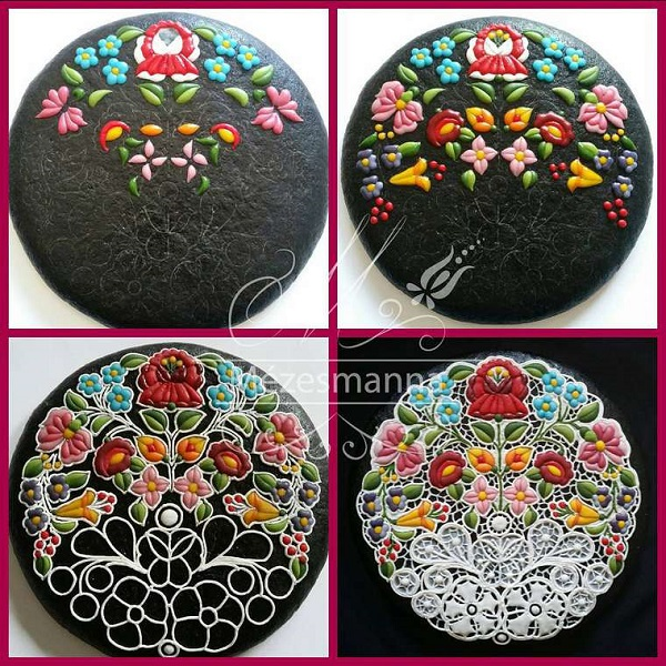 Delicate, Beautifully Decorated Cookies That Look Like They Are Embroidered - DesignTAXI.com