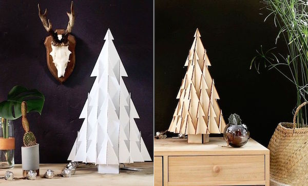 Creative, Minimalist Christmas Trees That Will Fit Right Into Modern Homes