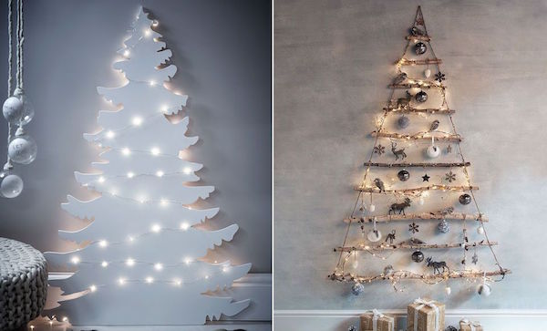 Creative Minimalist Christmas Trees That Will Fit Right