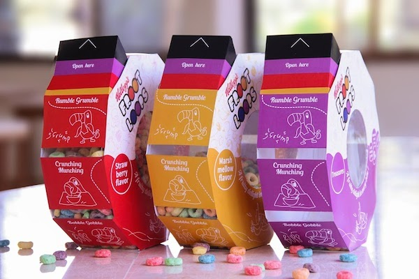 Clever Cereal Box Redesign Concept Is More Convenient To