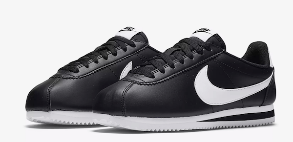 sale retailer 2b80f 22d98 Comme des Garçons has teamed up with Nike for a flamboyant take on Nike s  classic  Cortez  shoe.