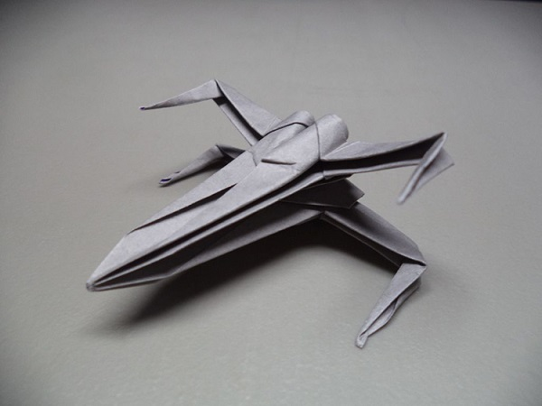 Watch How To Make An Origami Star Wars X Wing Starfighter