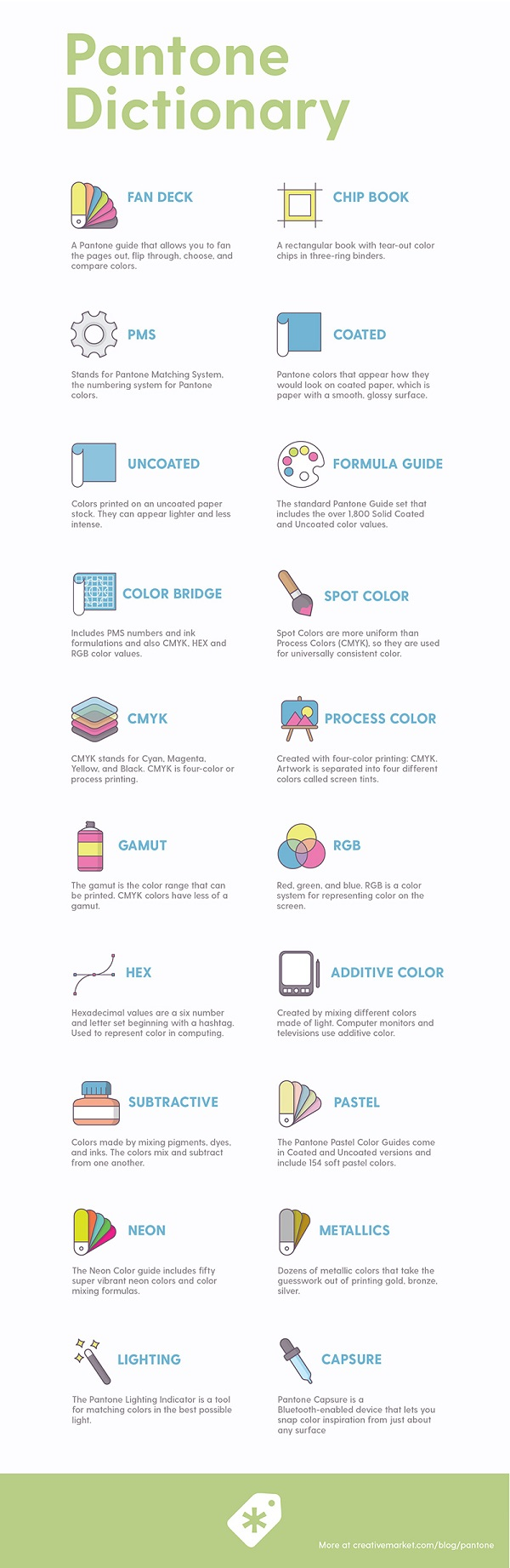Infographic: 20 PANTONE Terms You Should Know And Understand