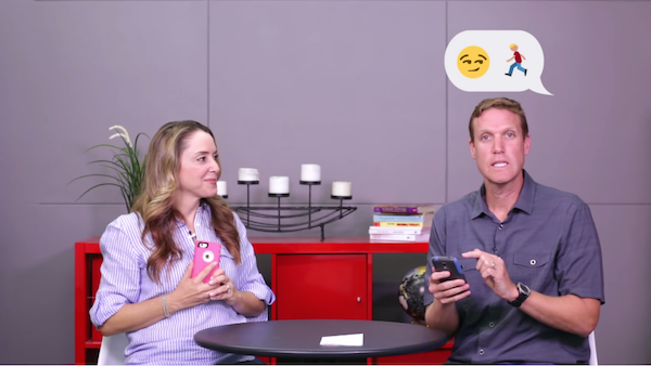 LOL: Parents Try To Communicate Using Only Emojis For The First Time